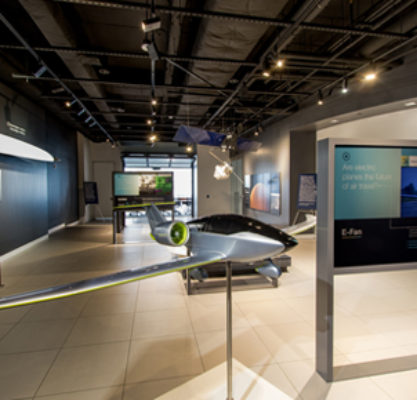 Airbus Experience Center 1101 Pennsylvania Ave Photo Interior Displayroom1 16 Web Page Government Affairs And